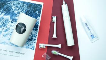 飞利浦 HX6063/05 声波震动牙刷刷头使用体验(刷头|刷牙)