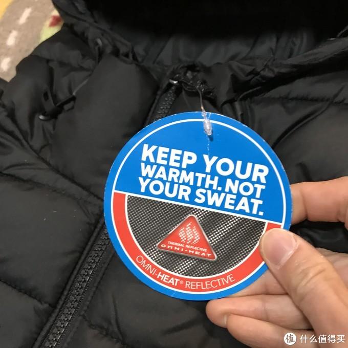 443元海淘Columbia OMNI—HEAT Powder棉服