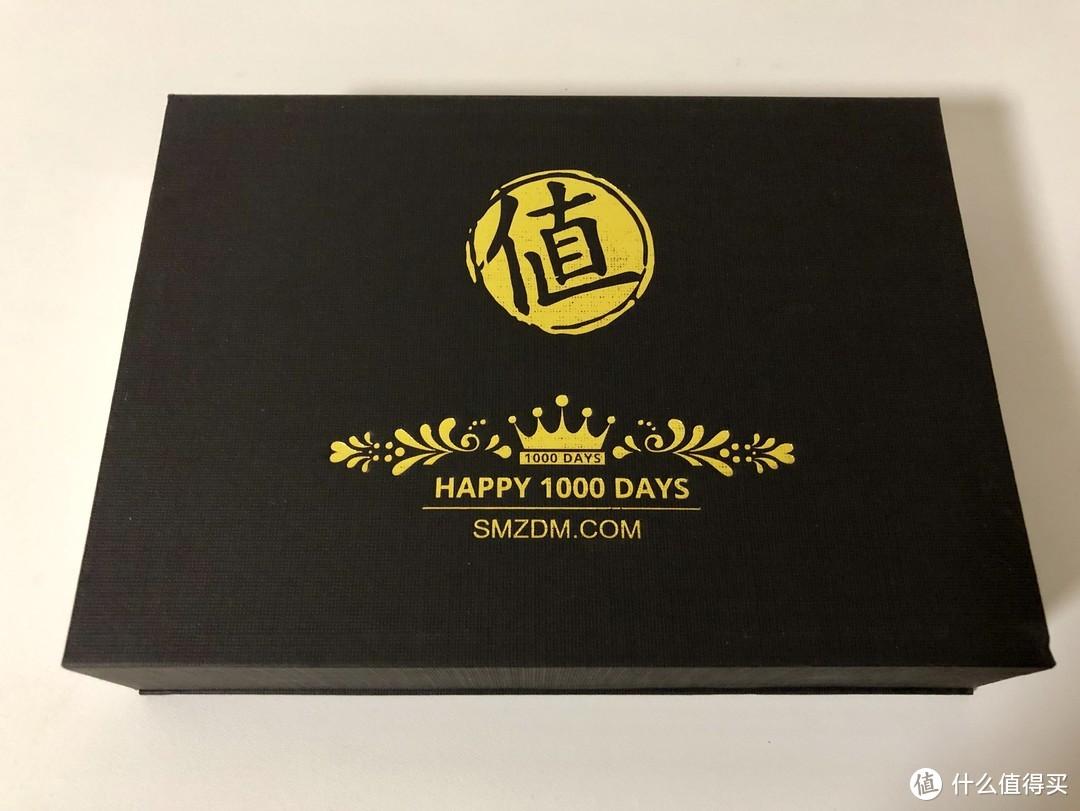 感谢ZDM,1000天签到礼终入手