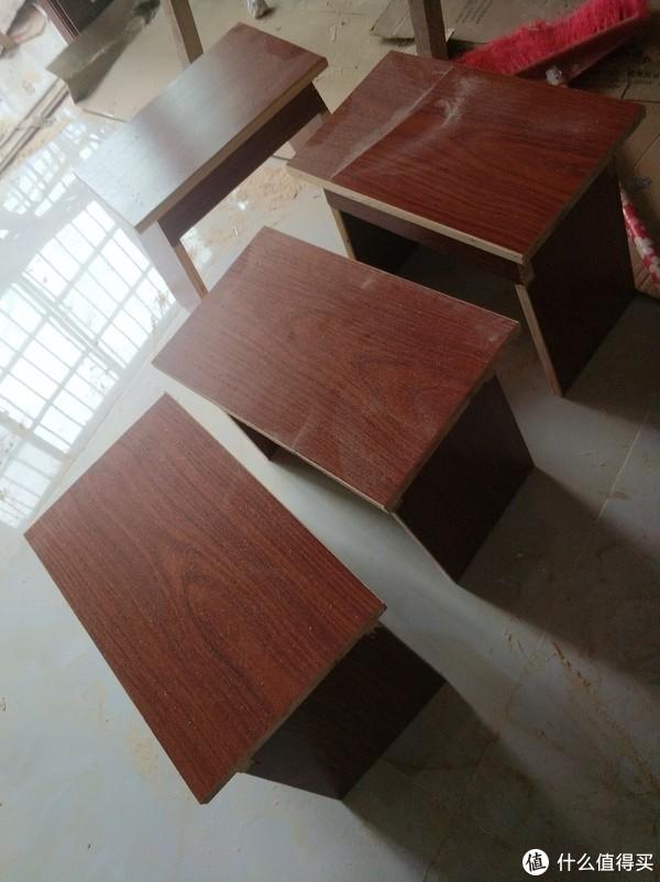 剩余木板做的凳子