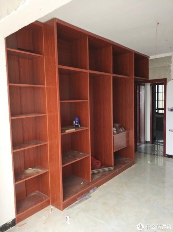 书房衣柜(做门之前)