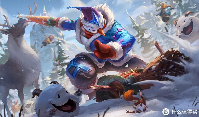 """重返游戏:LOL我的胡萝卜就是你的胡萝卜 """"雪人易""""剑圣冰雪节皮肤鉴赏"""