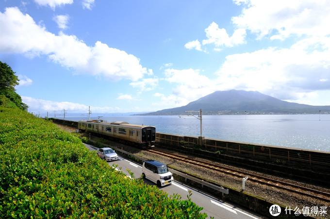 火山与列车