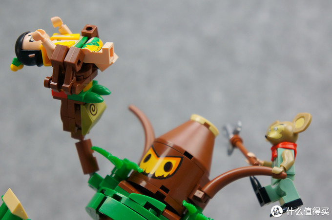 """既有高还原,也有新原创:启蒙积木 葫芦兄弟系列""""大战树人"""""""
