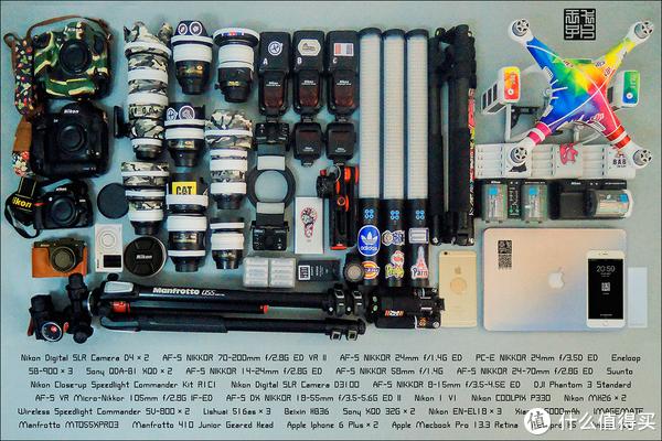 也许有一天摄影不再需要这么多设备了,不知道那天对于摄影师,是好是坏。