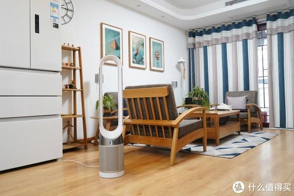 夏天的风扇,冬天新风机好帮手:Dyson 戴森 TP04 空气净化风扇体验