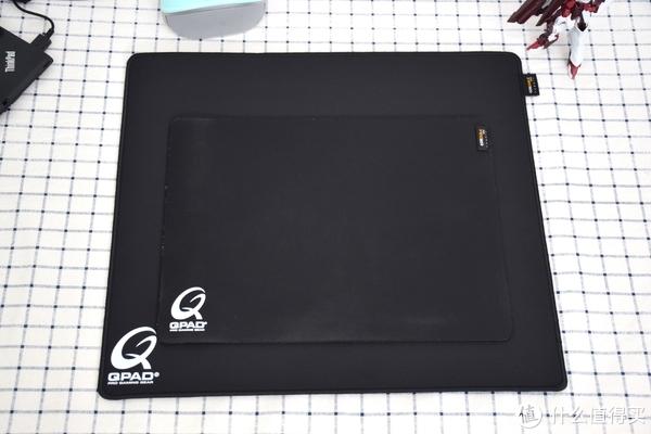 这张鼠标垫大了不止一点点,QPA CD-45开箱