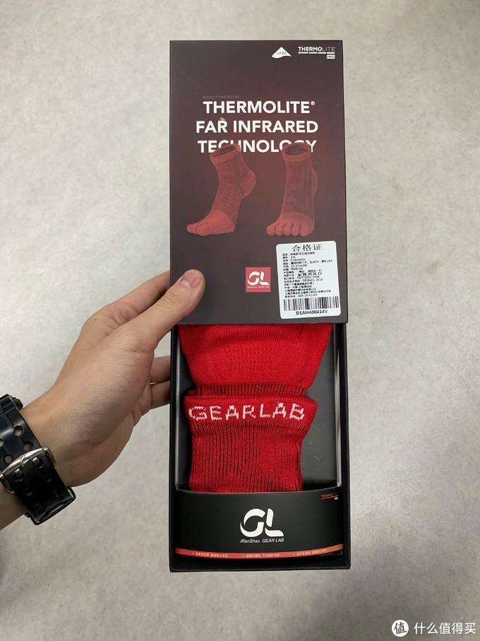 Gearlab&Thermolite发热3D五指袜 不完全使用报告
