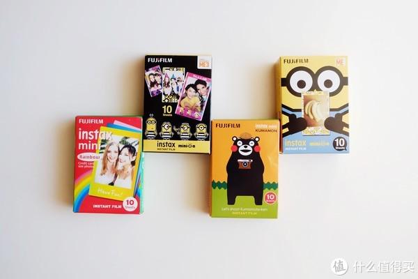 圣诞礼物推荐:一眼即沦陷的Fujifilm 富士 instax Mini 8 小黄人拍立得相机