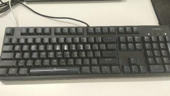 钛度 TKM320X键盘开箱总结(键帽|红轴|标牌|接口|价格)