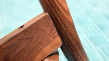 铜师傅 铜木主义 黑胡桃原木小桌凳使用总结(榫卯|脚柱|支撑|设计)