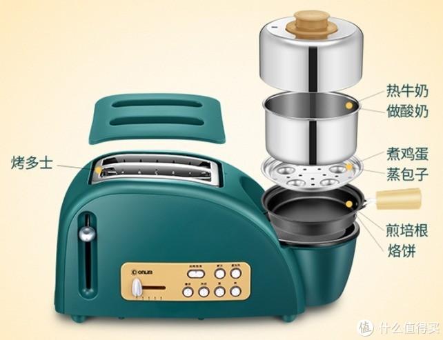 早餐机选购攻略—5分钟做好早餐