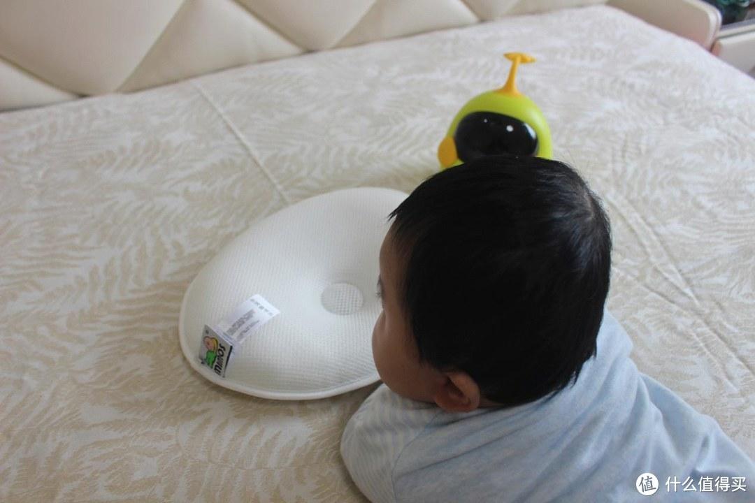 宝宝头型新利器,网红枕助宝宝头型正常成长一Mimos 婴儿枕头体验