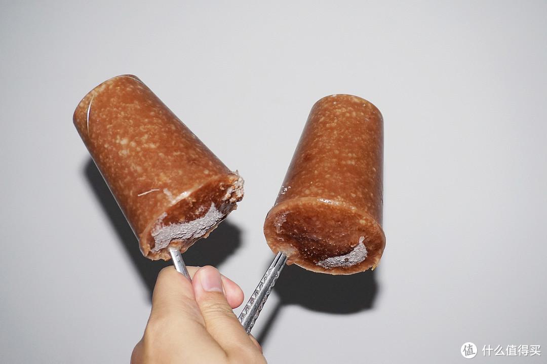 消灭2018的囤货,让冬天更冷更营养,桂格燕麦巧克力味冰棍