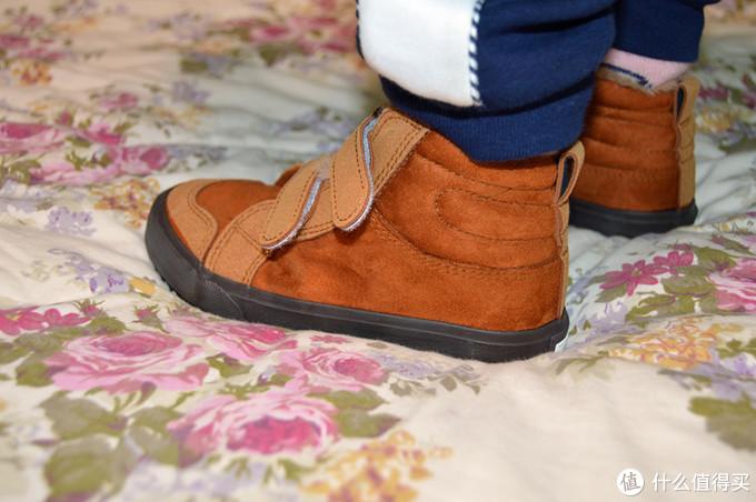 Warrior回力 儿童棉鞋 晒单