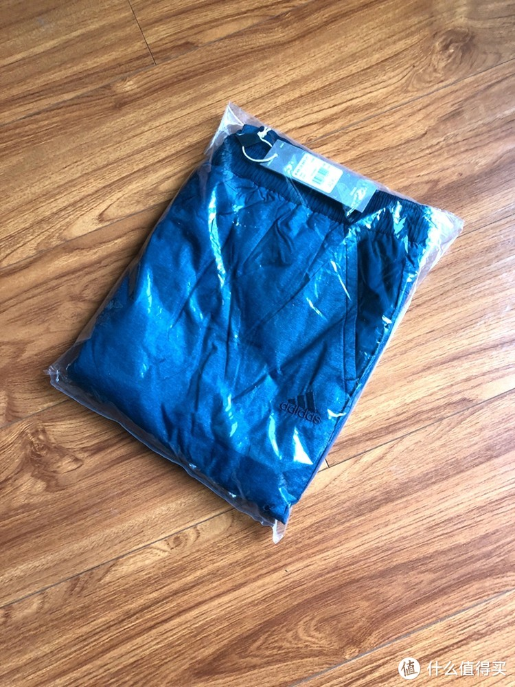 换季优惠正当时—Adidas 阿迪达斯 DH3999 BKFLPT 男子 梭织长裤 开箱简晒