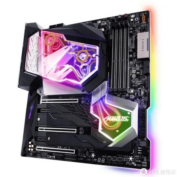 集成RGB幻彩水冷头:GIGABYTE 技嘉 发布 Z390 AORUS Xtreme Waterforce 主板