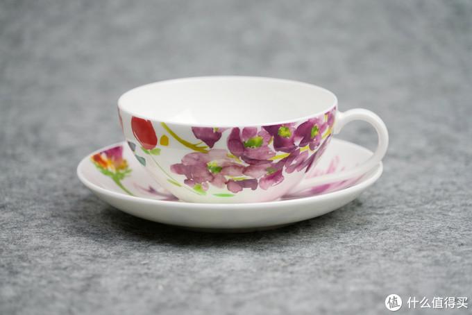 一眼繁华,一眼落寞:Villeroy boch 唯宝 花舞 系列咖啡杯碟套组