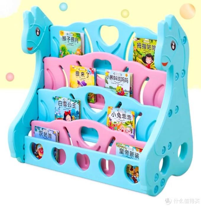 绘本收纳神器—Babycare儿童书架开箱点评