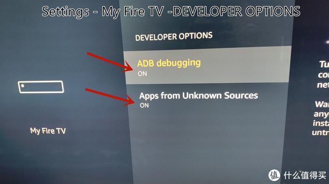 ADB调试和未知来源应用,不使用ADB安装就不打开第一项了