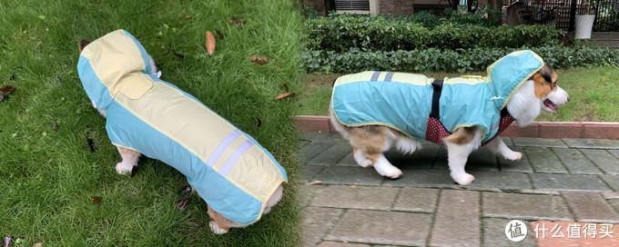 ▲穿着效果如图,雨天强裂推荐使用,非常方便。
