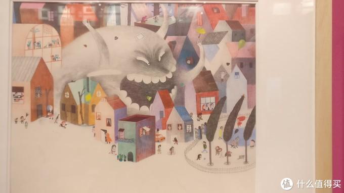 2017博洛尼亚插图展-我不看文字就知道这个有趣、充满故事性的插画在讲一个什么故事。这就是好的图应该有的素质。