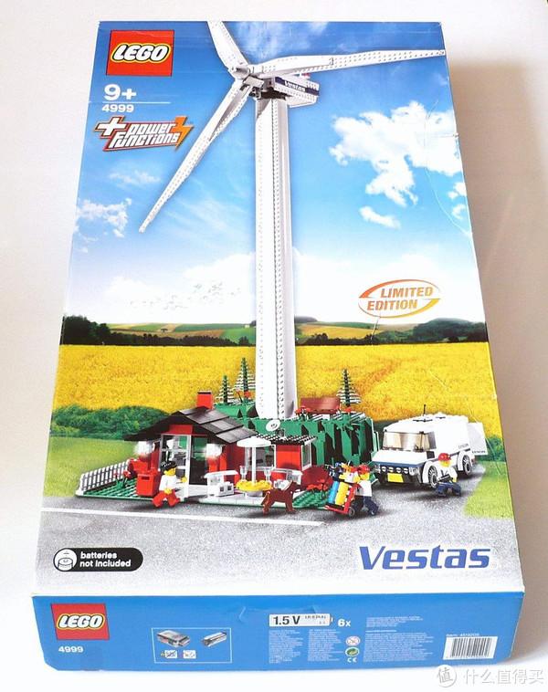 新一代高度一米的套装,既是限定复刻又是环保产品:乐高创意系列10268 Vesta风力发电机