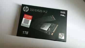惠普 EX920 M.2 NVMe 固态硬盘外观展示(配色|颗粒)