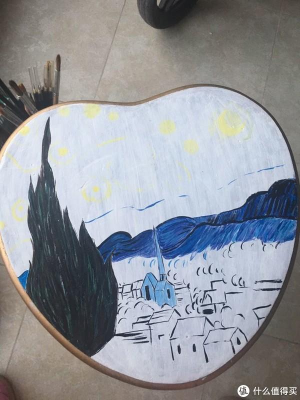 如何制作一个爱不释手的星空实木凳子