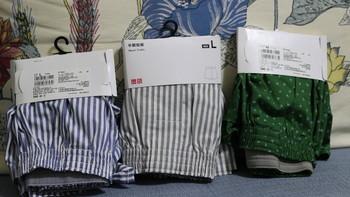 优衣库内裤外观展示(款式 尺寸)