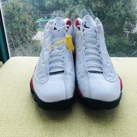 AIR JORDAN 13 跑鞋外观展示(造型|鞋底|内侧|材质|鞋头)