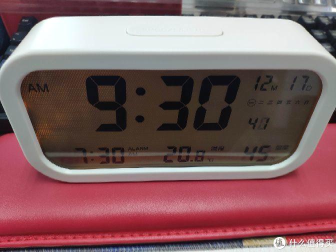 蛋子佛系简评--严选LCD电子钟,就为了看湿度?