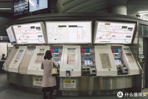 涉谷车站其实也蛮复杂的