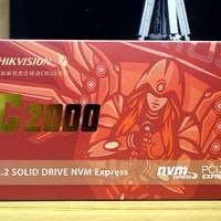 海康威视 C2000 512G固态硬盘外观展示(接口|散热贴|颗粒)