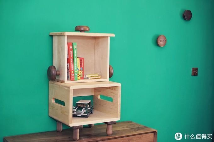 是家具也是孩子喜欢的玩具—等等几木vava床边柜评测