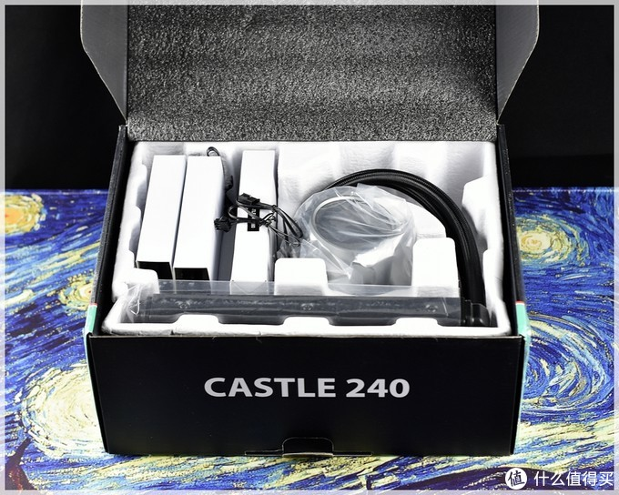 国货RGB标杆 九州风神 玩家风暴 GAMER STORM 堡垒 CASTLE 240 CPU 水冷 散热器 开箱体验