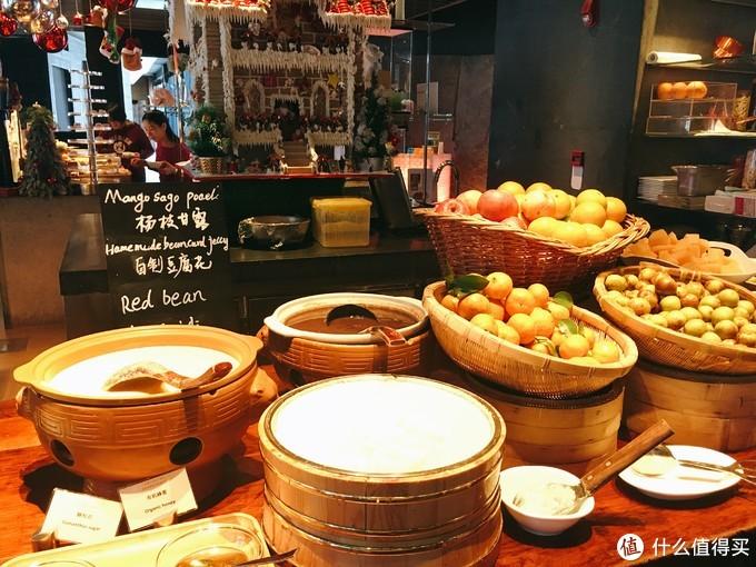 中式甜品&水果区