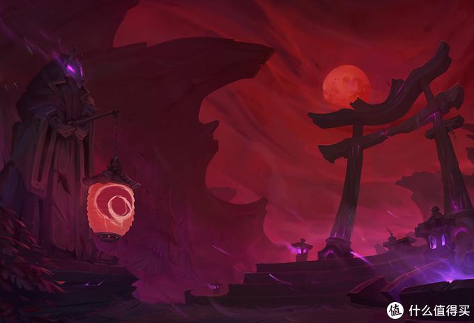 重返游戏:LOL惊悚的杀戮盛宴 派克腥红之月皮肤鉴赏