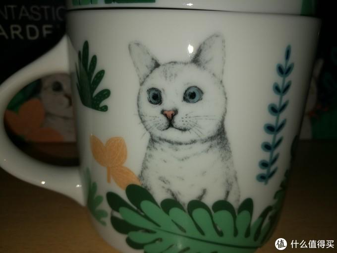 artiart 陶瓷马克杯 白熊-喵星人