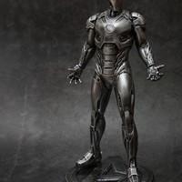钢铁侠雕像使用体验(喷涂 配色 腹部 背面 腰部)