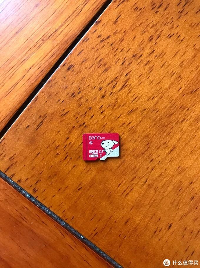 banq 京东JOY联名款 32GB U1 C10 TF(MicroSD)存储卡 开箱实测