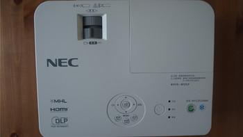 NEC 日电 NP-CD3105H 家用投影机外观设计(机身|散热口|进风口|镜头)