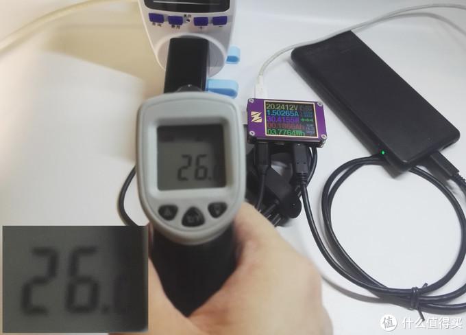 3分钟时适配器温度