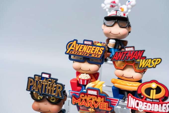 戴上眼镜我们都是超级英雄,HotToys Movbi系列Q版人偶