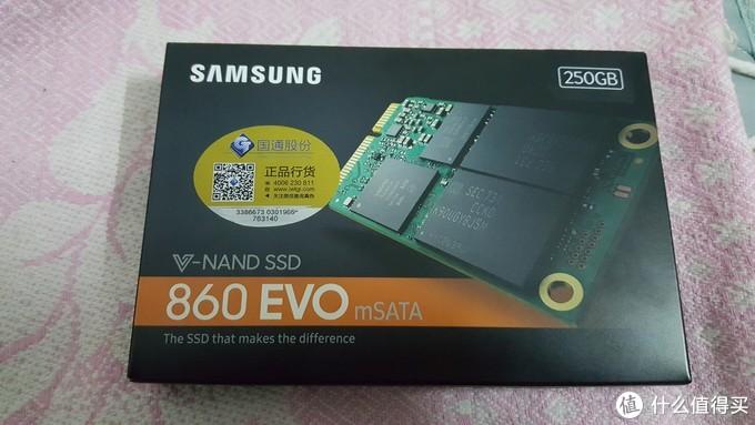 三星860EVO mSATA 250GB固态硬盘