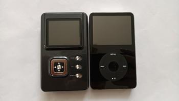 头领科技 HM-601LE MP3播放器外观展示(屏幕|键|卡槽|接口)