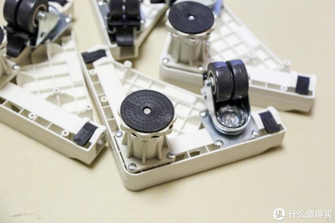 值得收藏:小东西解决洗衣机的大问题,洗衣机底座安装实测及选购建议