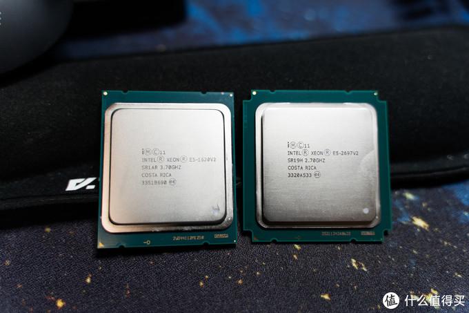 新老CPU合影