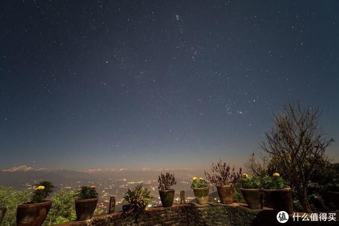 晚上的星空