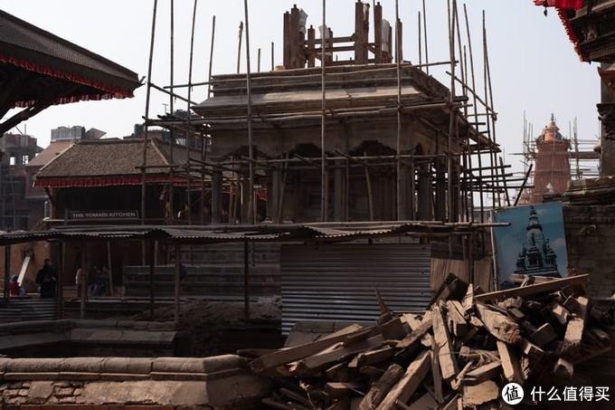 维修中的建筑